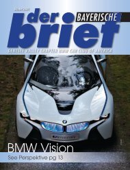 Winter 2009 - Genesee Valley Chapter BMW CCA