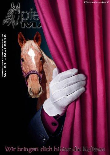 pferdetrendsMagazin No. 01 - April/Mai 2016
