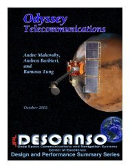Article 6 Odyssey Telecommunications - DESCANSO - NASA