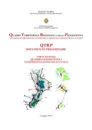 parte seconda - Regione Calabria - Dipartimento Urbanistica e ...