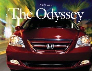 The Odyssey - Honda
