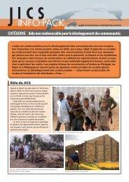Aide non remboursable pour le développement des communautés