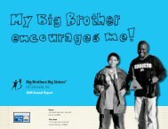 2009 Annual Report - Big Brothers Big Sisters of Colorado