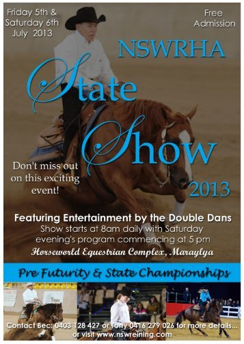 Futurity and State Show 2013 - Horsezone
