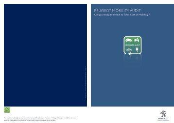 Peugeot Mobility Audit