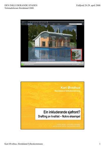Kari Øvsthus - Hordaland fylkeskommune