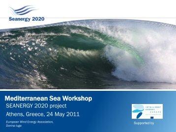 Mediterranean Sea Workshop - Seanergy 2020