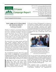 CCE News Corner - Citizens Campaign for the Environment