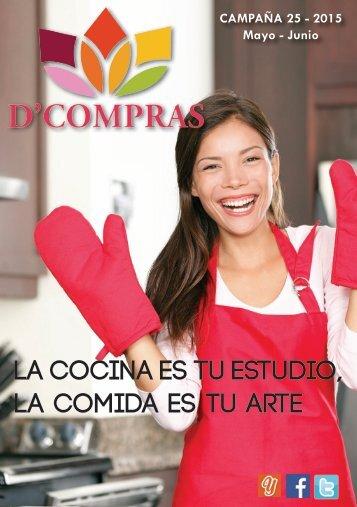 Catálogo D'Compras Mayo - Junio 2015