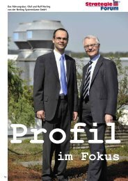 im Fokus - Nerling GmbH Systemräume