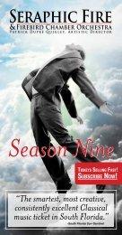 Season Nine - Seraphic Fire