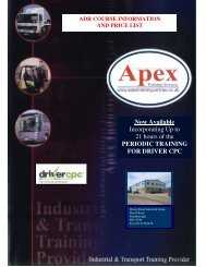 The Driver CPC - Apex Training Services