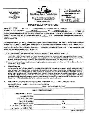 School Physical Form. 014-Cc03 - Dadeschools Net - Miami-Dade ...