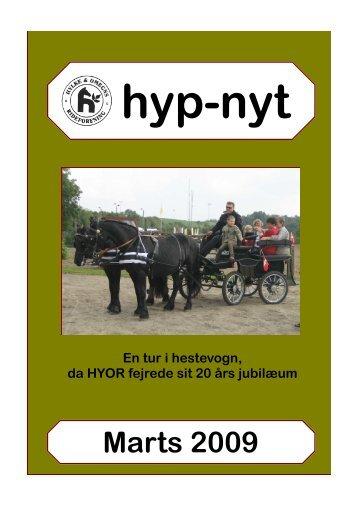hypnyt marts09.pdf - Hylke Ridecenter