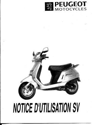 Scooter électrique Peugeot Vivacity