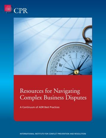 Resources for Navigating Complex Business Disputes
