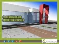 IndiaCADworks - 3D Rendering and Animation Services