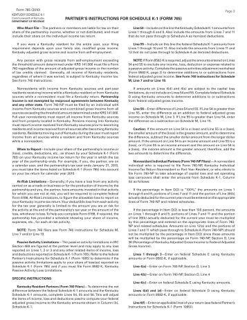 form 1065 k 1 instructions
