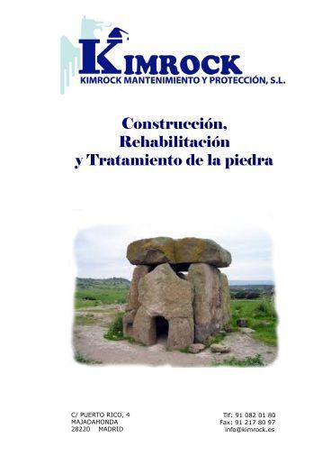 Construcción, Rehabilitación y Tratamiento de la piedra