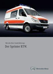 Der Sprinter RTW.