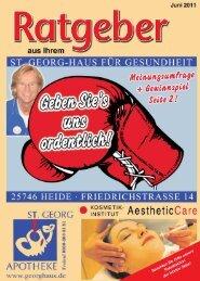Große Preisaktion im Juni - St. Georg Apotheke