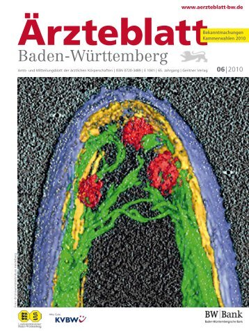 Ärzteblatt Baden-Württemberg 06-2010 [PDF] - Landesärztekammer ...