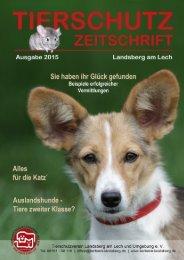 Tierheim Landsberg Zeitung 2015