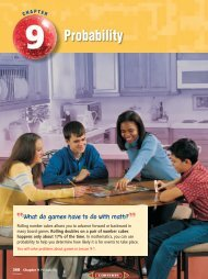 Chapter 9: Probability - Margaret B. Pollard Middle School