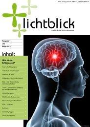 Lichtblick 1/2012 - Selbsthilfe OÖ