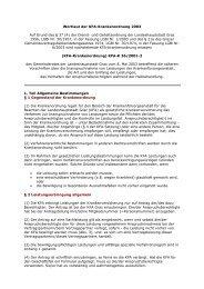 Wortlaut KFA Satzung
