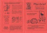 Pfarrbrief 11.11.12 - Pfarrei St. Johannes in Mallersdorf