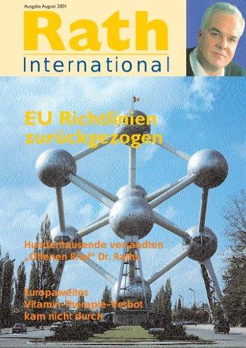 cover deutsch.qxd - Dr. Rath Gesundheits-Allianz