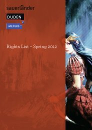 Rights List – Spring 2012 - Artemis & Winkler