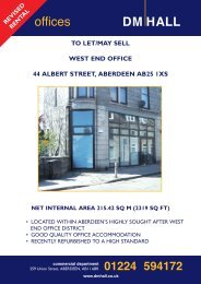 to let/may sell west end office 44 albert street, aberdeen ... - DM Hall