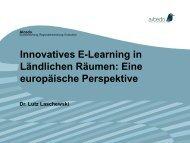 Ländliches Leben und Gleichstellung in einer ... - e-Learning Baltics