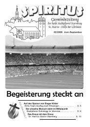 Juni 2006 - Pfarrei Starnberg