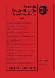Vollständige Aktuelle Ausgabe Nr. 1/2008 (pdf) - Deutsche ...