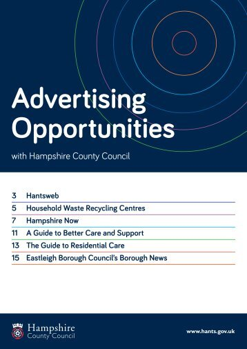 Media Pack - Hampshire County Council