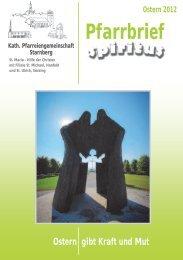 Ostern 2012 Pfarrbrief - Pfarrei Starnberg