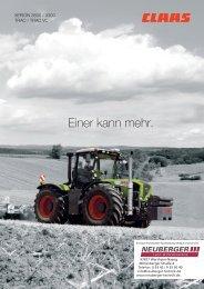 Claas Xerion 3300 - 3800 Traktor