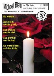 Der Pfarrbrief zu Weihnachten - Pfarrei Untergriesbach
