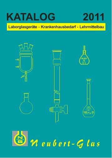 katalog 2011 - Neubert-Glas