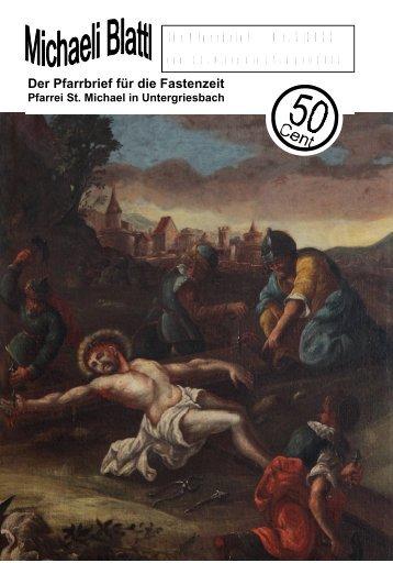 Der nächste Pfarrbrief erscheint am 17. April 2011 - Pfarrei ...
