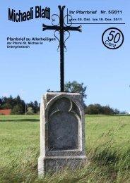 Der nächste Pfarrbrief erscheint am 18. Dez. 2011 - Pfarrei ...