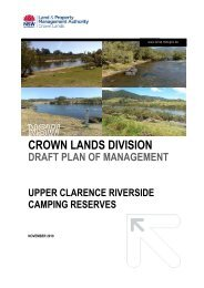 CROWN LANDS DIVISION - NSW Government