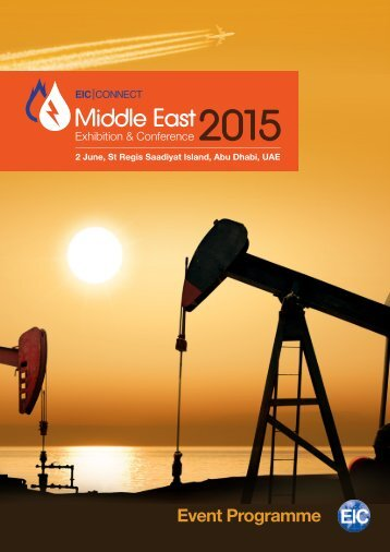 EIC Middle East 2015 Programme D5b