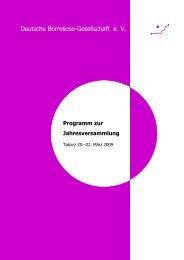 Programm zur Jahresversammlung - Deutsche Borreliose ...