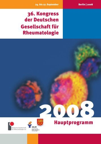 36. Kongress der Deutschen Gesellschaft für ... - Dgrh-Kongress