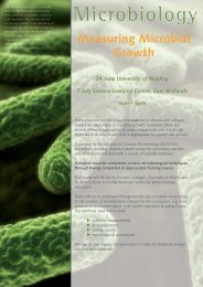 Measuring Microbial Growth - Microbiology Online