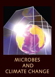 MICROBES AND CLIMATE CHANGE - Microbiology Online